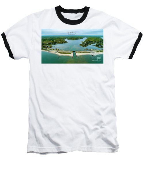 Menauhant Beach Baseball T-Shirt