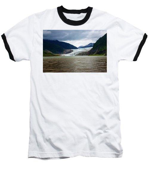 Mendenhall Glacier  Baseball T-Shirt