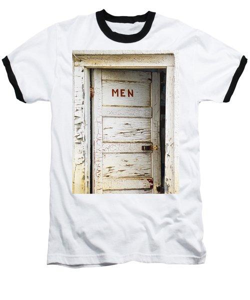 Men's Room Baseball T-Shirt