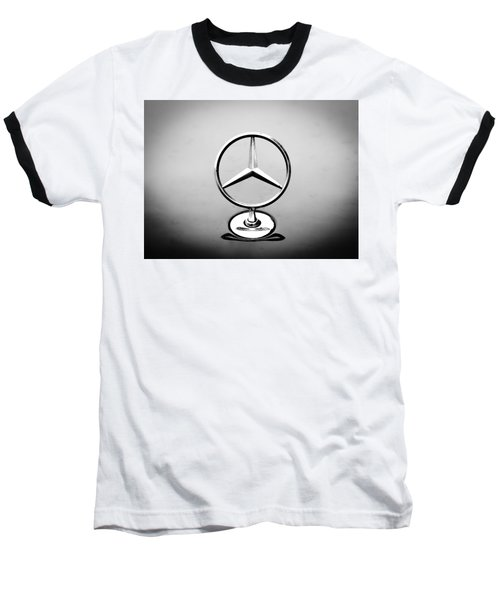 Mercedes Benz Logo Baseball T-Shirt
