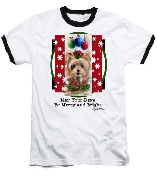 Merry And Bright Baseball T-Shirt