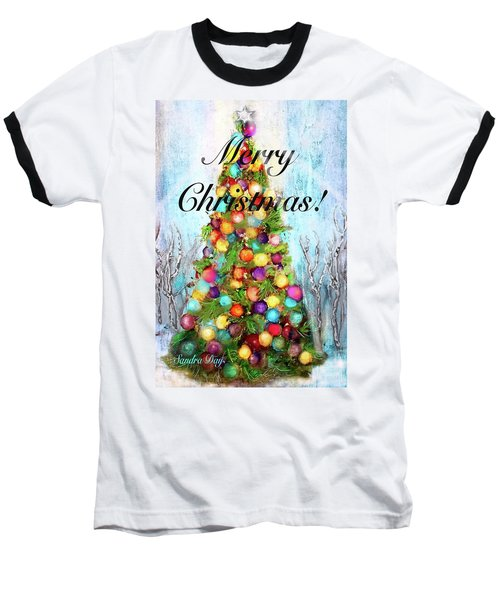 Merry And Bright Baseball T-Shirt