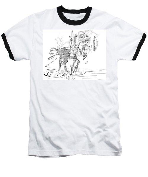 Merry-go-round Horse Baseball T-Shirt