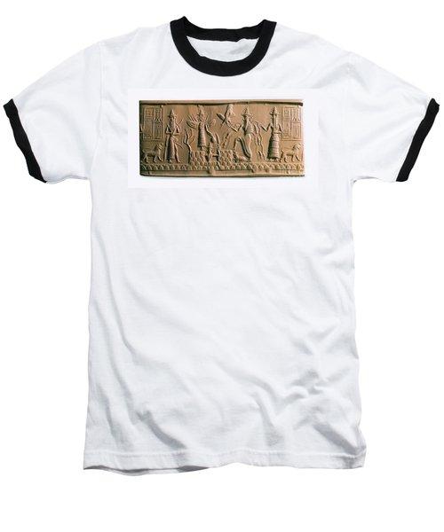 Mesopotamian Gods Baseball T-Shirt