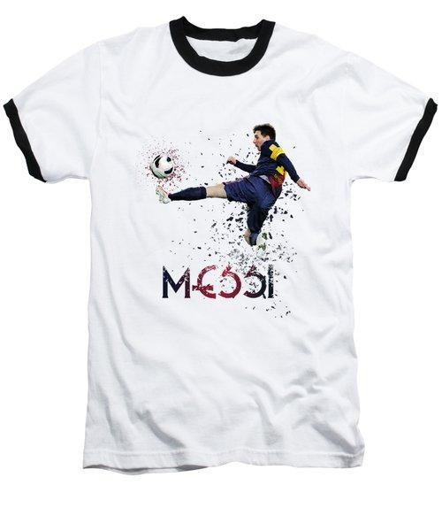 Messi Baseball T-Shirt by Armaan Sandhu