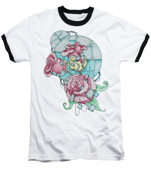 Metallic Bouquet Baseball T-Shirt