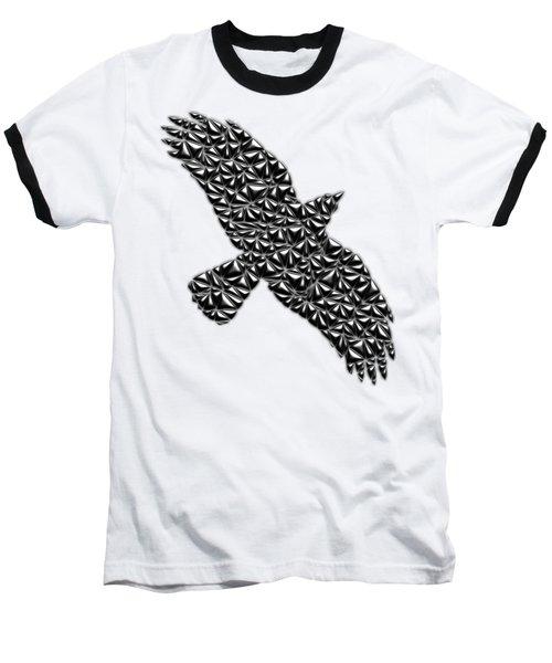 Metallic Crow Baseball T-Shirt