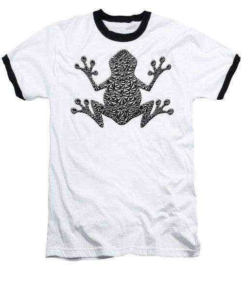 Metallic Frog Baseball T-Shirt by Chris Butler