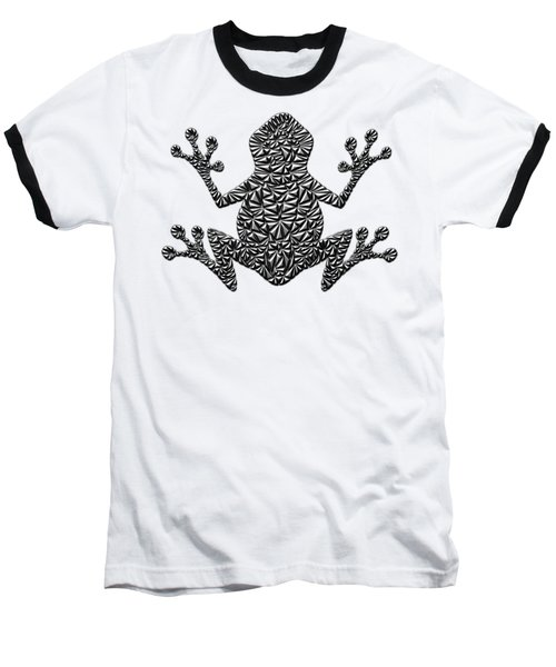 Metallic Frog Baseball T-Shirt