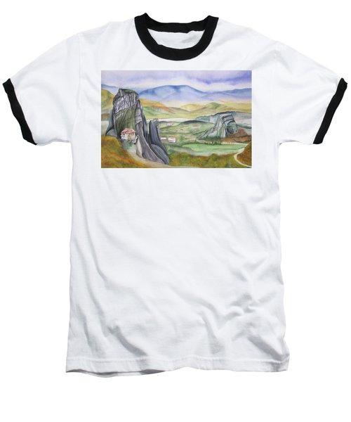 Meteora Baseball T-Shirt by Teresa Beyer