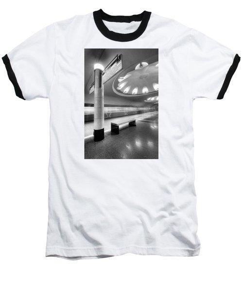 Metro #1591 Baseball T-Shirt by Andrey Godyaykin