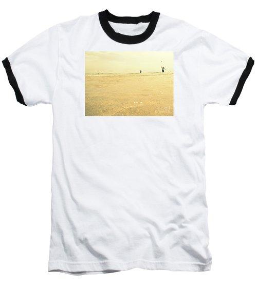 Miami Beach 2 Baseball T-Shirt by France Laliberte