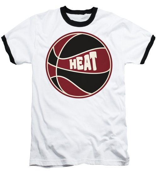 Miami Heat Retro Shirt Baseball T-Shirt