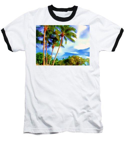 Miami Maurice Gibb Memorial Park Baseball T-Shirt