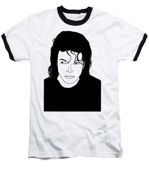 Michael Jackson Baseball T-Shirt by Lionel B