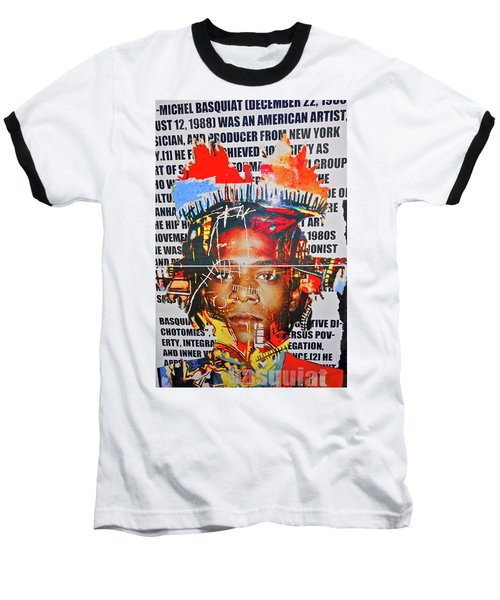 Michel Basquiat Baseball T-Shirt