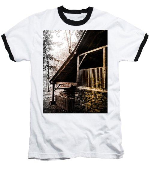 Michie Tavern No. 5 Baseball T-Shirt by Laura DAddona