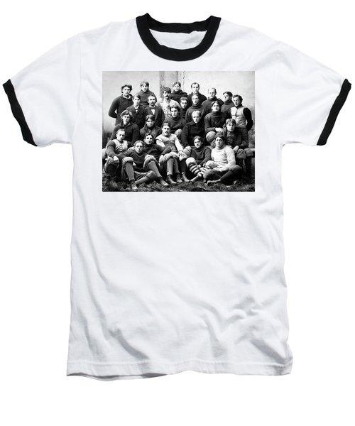 Michigan Wolverines Football Heritage  1895 Baseball T-Shirt by Daniel Hagerman