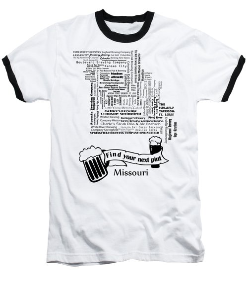 Micro Brew Missouri Baseball T-Shirt