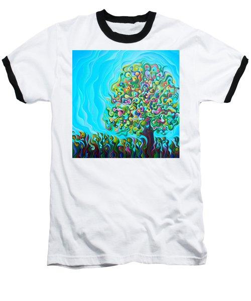 Mid-summer Tree Breath Baseball T-Shirt