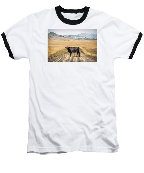Middle Of The Road Baseball T-Shirt