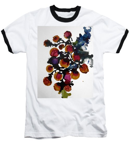 Midnight Magiic Bloom-1 Baseball T-Shirt