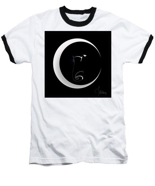Moonlight Rendezvous 2 Baseball T-Shirt