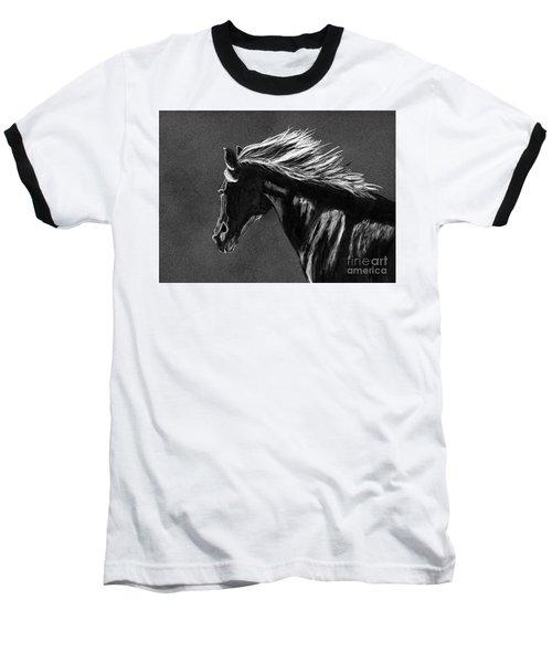 Midnight Ride Baseball T-Shirt