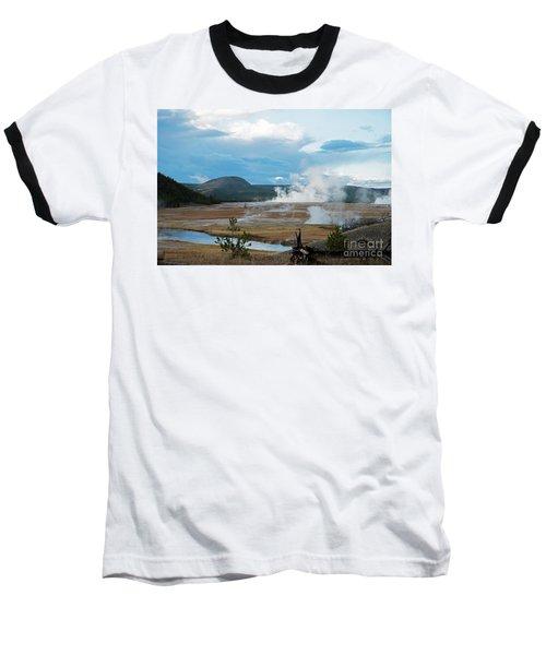 Midway Geyser Area Baseball T-Shirt