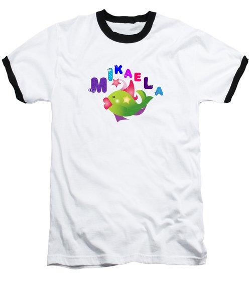 Mikaela Tshirt Size 4 Baseball T-Shirt