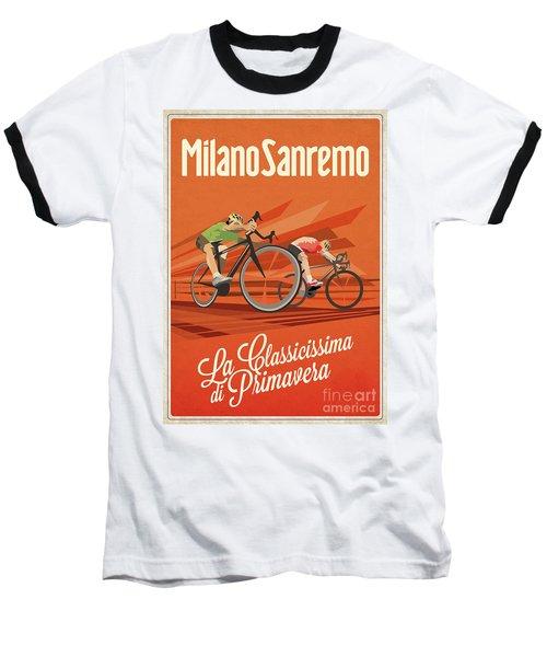 Milan San Remo Baseball T-Shirt