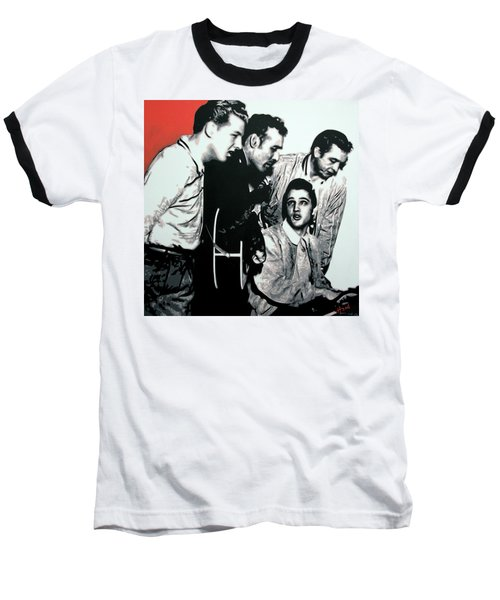 Million Dollar Quartet Baseball T-Shirt