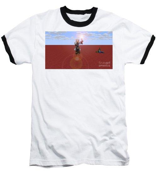 Minecraft Knight Baseball T-Shirt