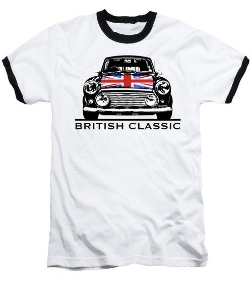 Mini British Classic Baseball T-Shirt by Thomas M Pikolin