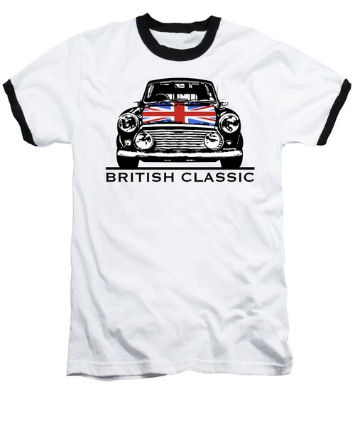 Mini British Classic Baseball T-Shirt