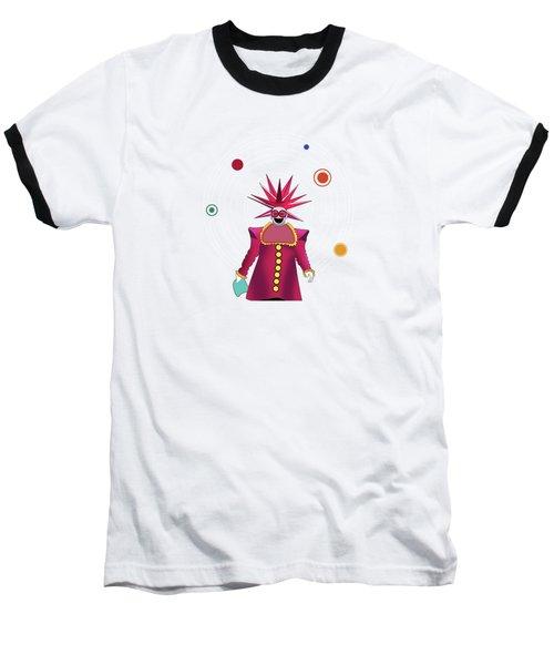 Minimal Space  Baseball T-Shirt