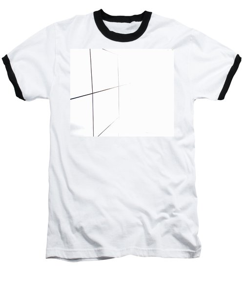 Minimal Squares Baseball T-Shirt