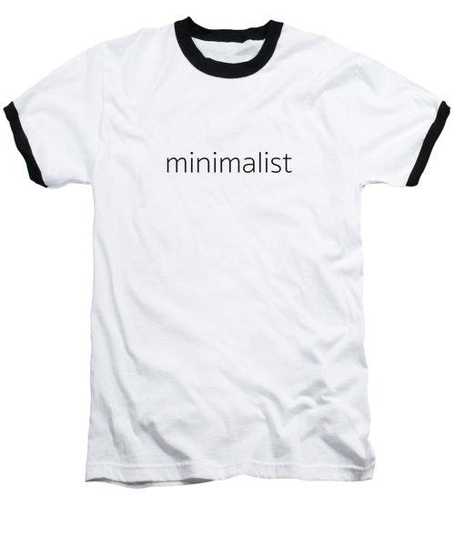 Minimalist Baseball T-Shirt