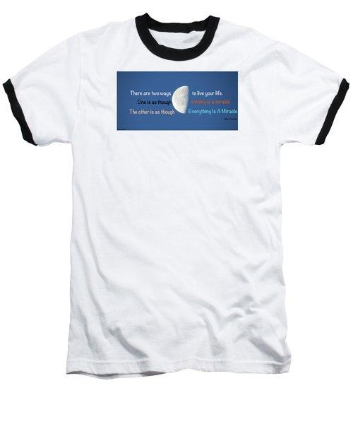 Miracles Baseball T-Shirt by David Norman