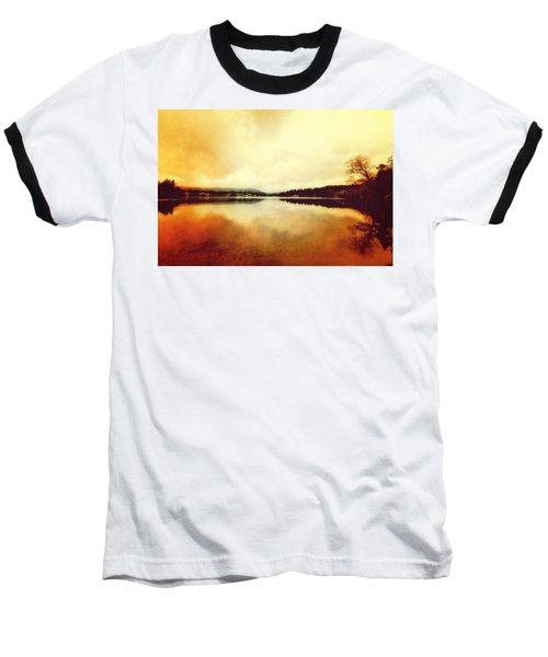 Mirror Lake At Sunset Baseball T-Shirt