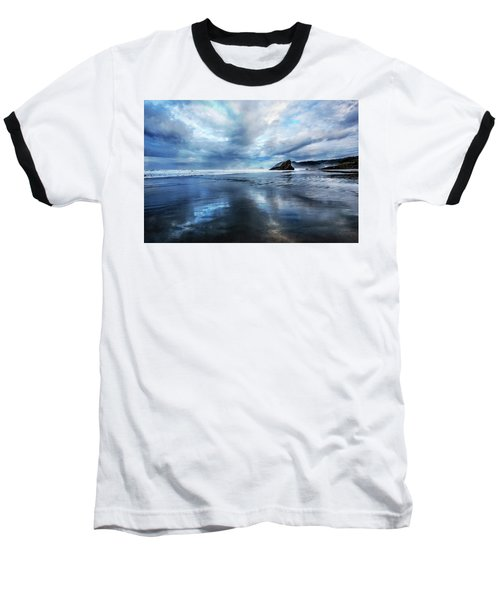 Baseball T-Shirt featuring the photograph Mirror Of Light by Debra and Dave Vanderlaan