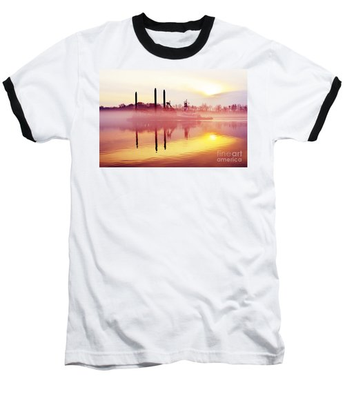 Mirrors - Delaware River Series Baseball T-Shirt