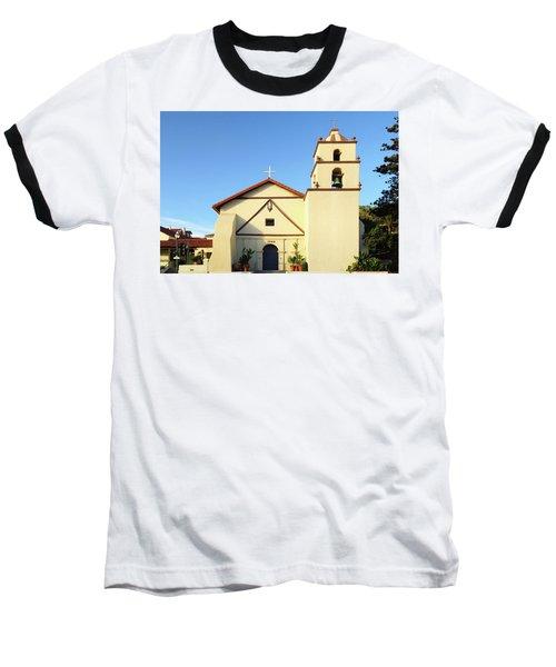 Mission San Buenaventura, Ventura, California Baseball T-Shirt