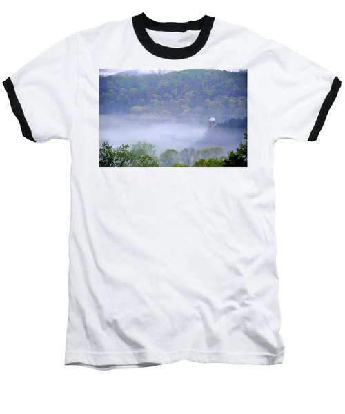 Mist In The Valley Baseball T-Shirt