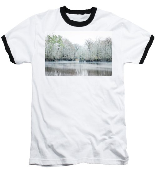 Mist On The River Baseball T-Shirt