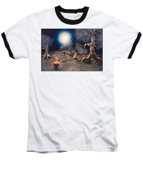 Mistery Of Cosmic Obsession Baseball T-Shirt