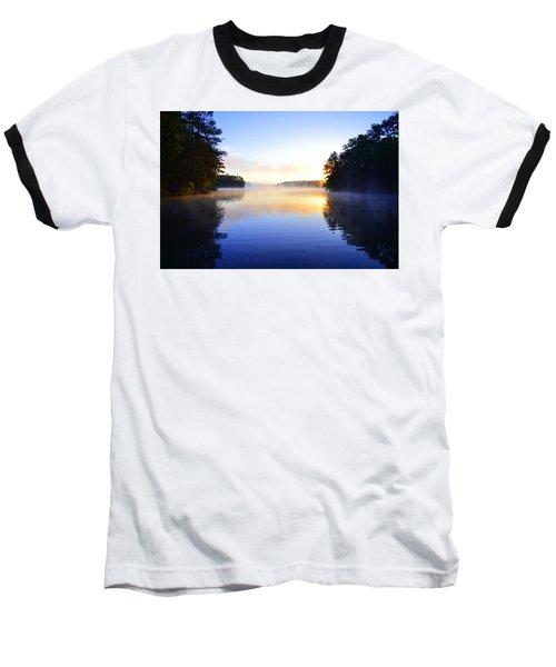 Misty Morining Baseball T-Shirt