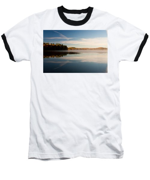 Baseball T-Shirt featuring the photograph Misty Morning by Brent L Ander