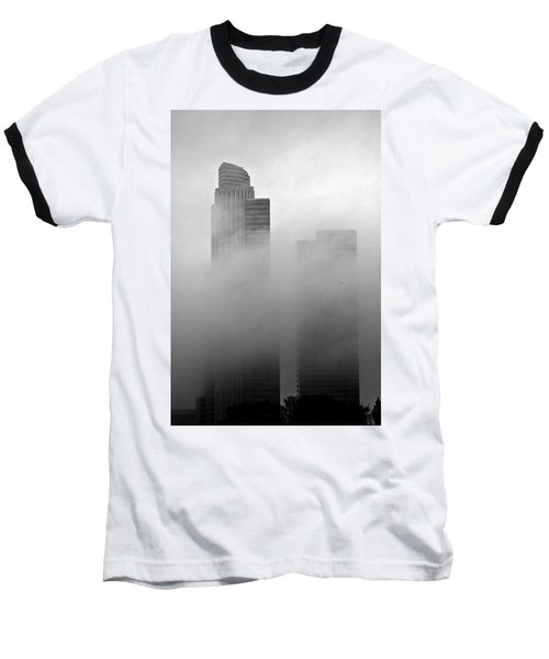 Misty Morning Flight Baseball T-Shirt