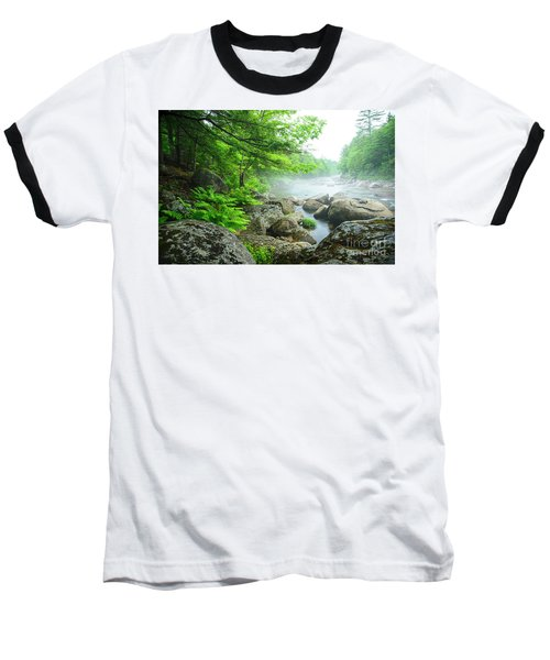 Misty Waters Baseball T-Shirt